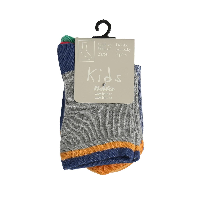 Dětské ponožky 3 páry