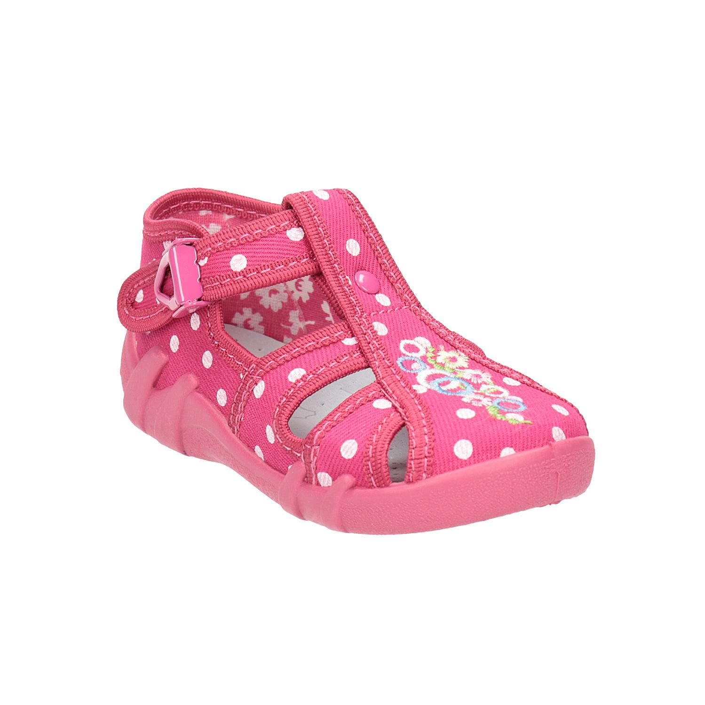 Dětská domácí obuv kotníčková