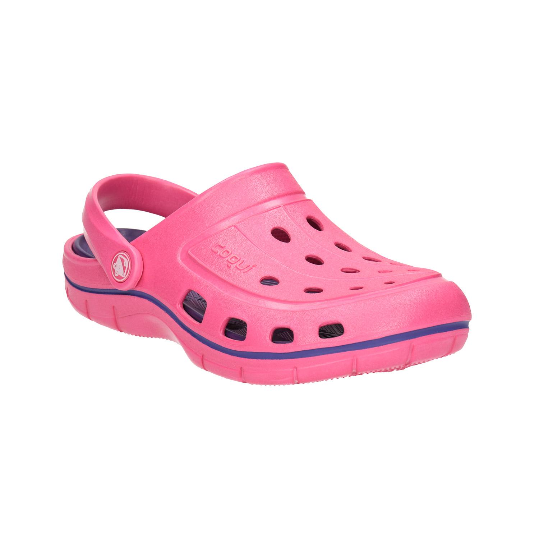 Růžové dámské sandály