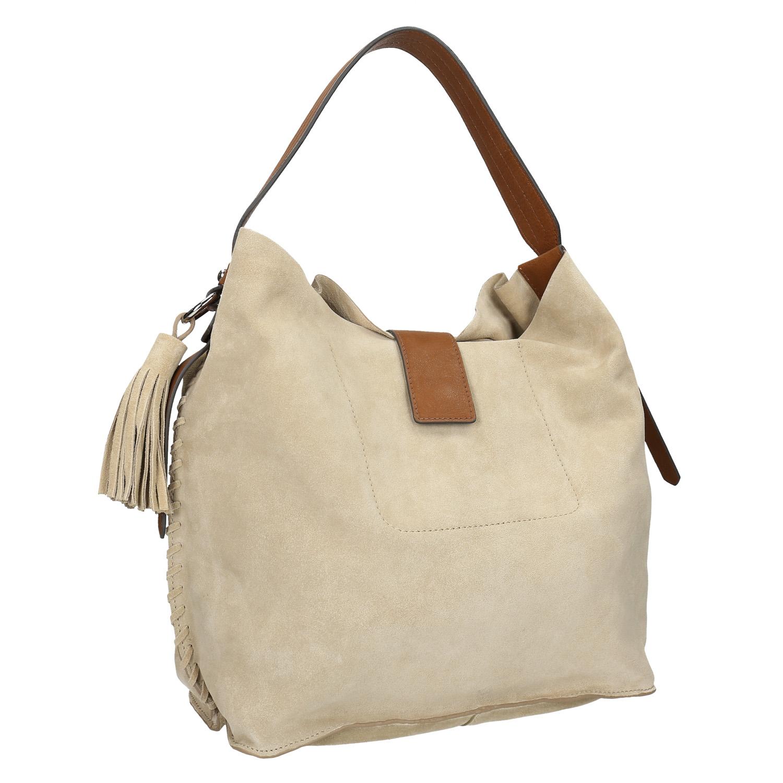 Kožená dámská Hobo kabelka