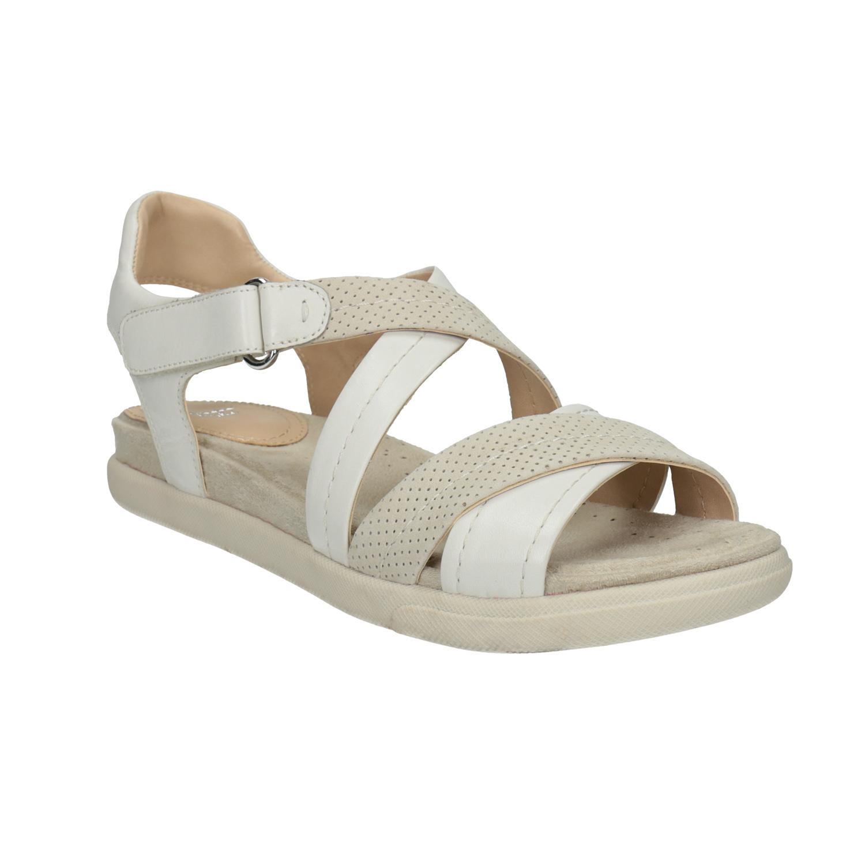 Skórzane sandały damskie - 5661609