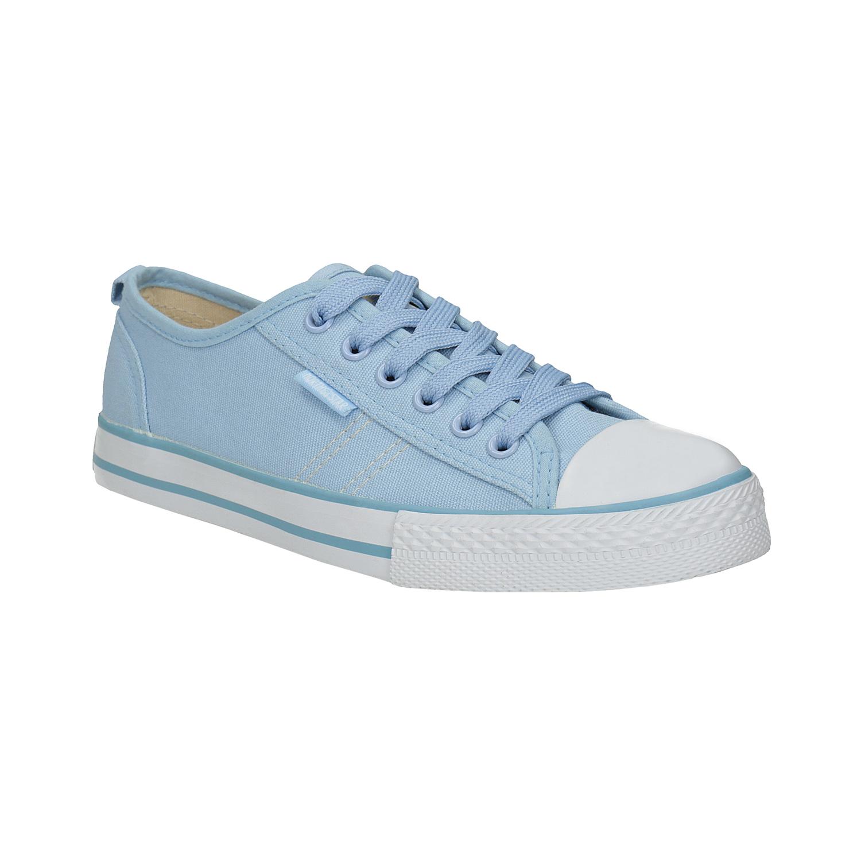Błękitne trampki damskie - 5899443