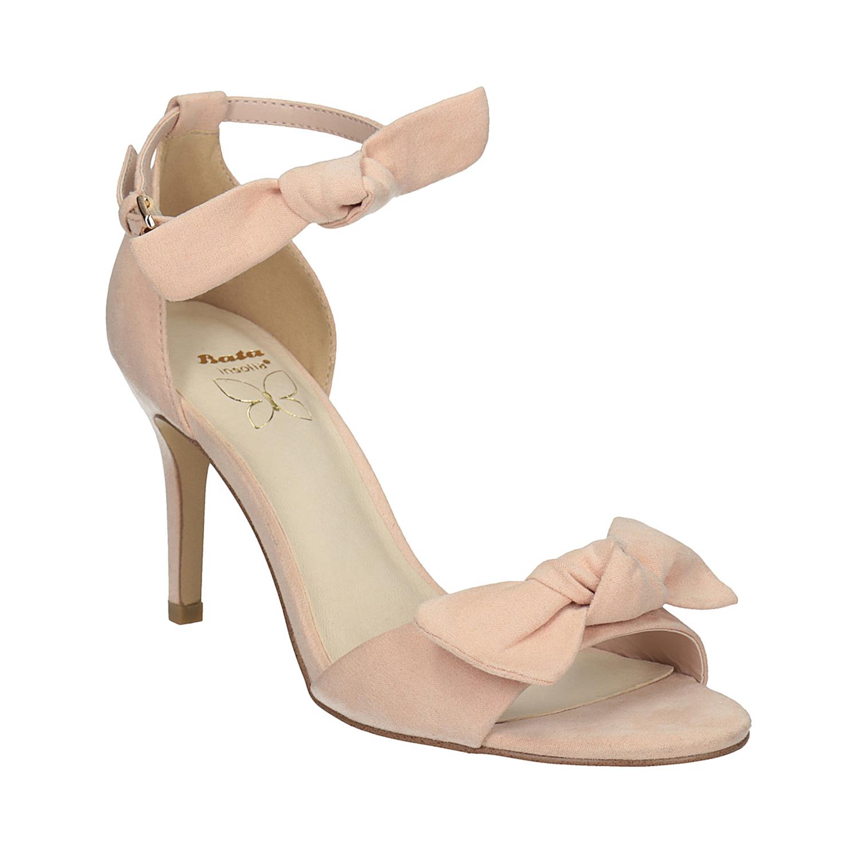 Dámské sandály s mašlí