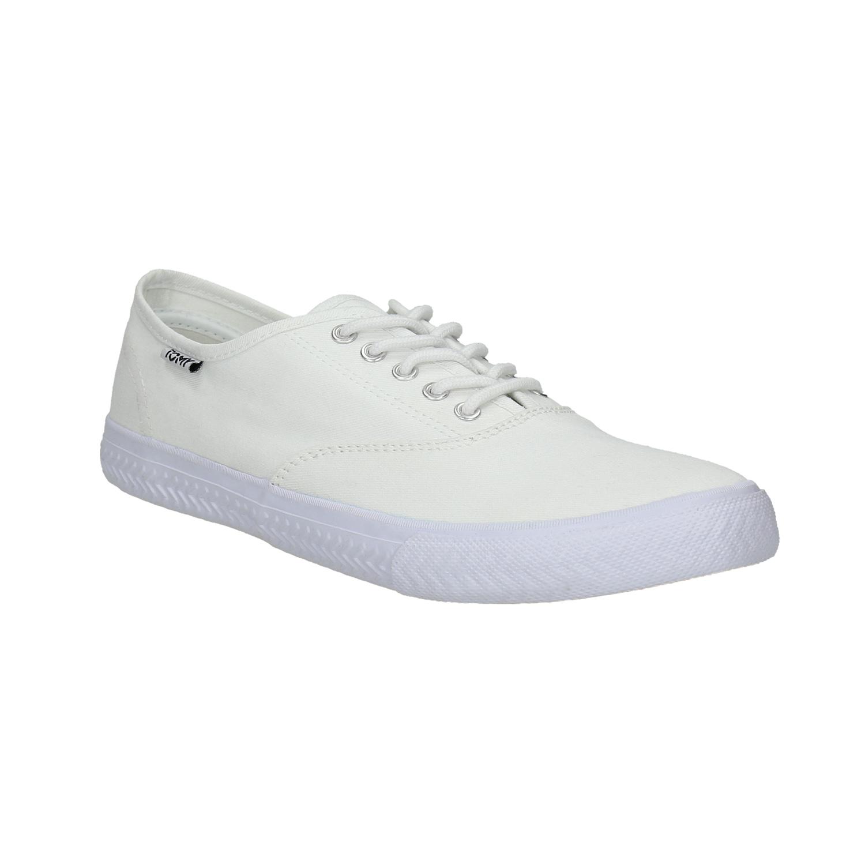 Bílé ležérní tenisky