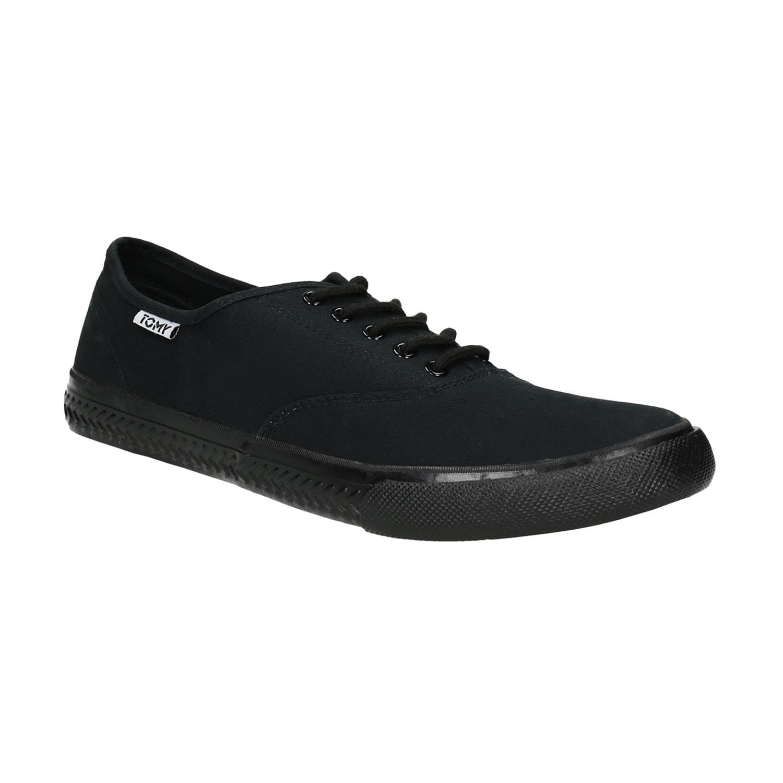 Czarne trampki męskie - 8896227