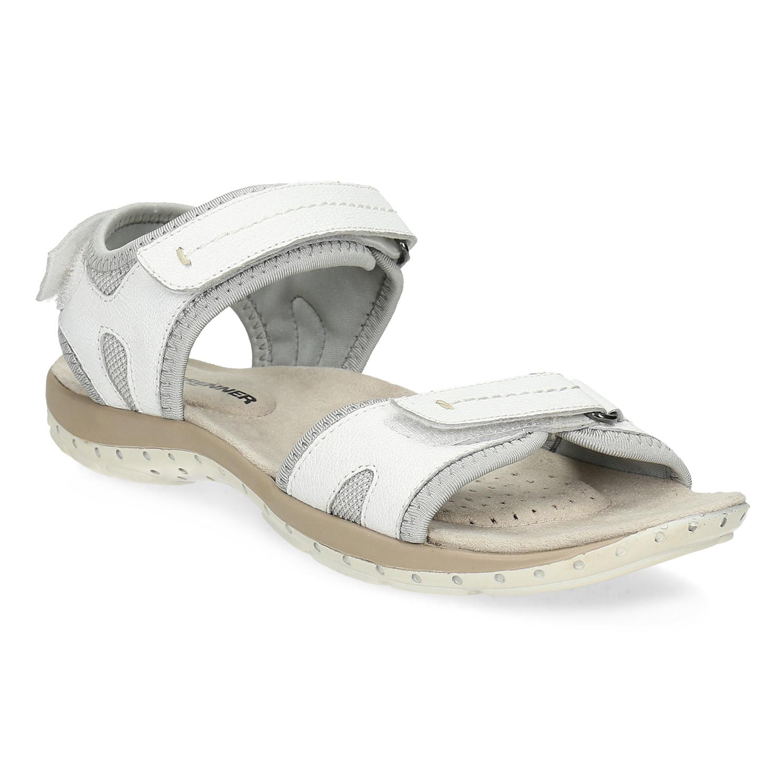 Kožené dámské sandály v Outdoor stylu
