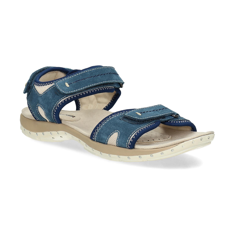 Kožené sandály v Outdoor stylu