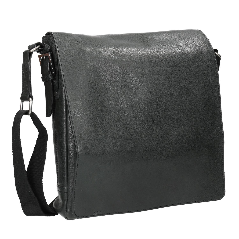 Unisex kožená Crossbody taška