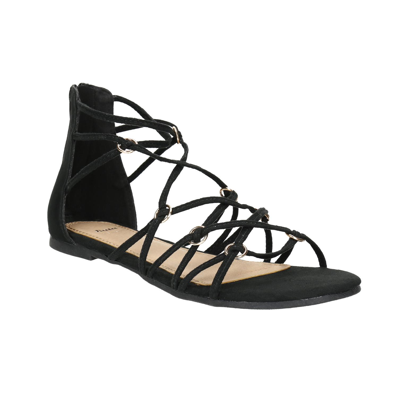 Sandály s propletenými pásky