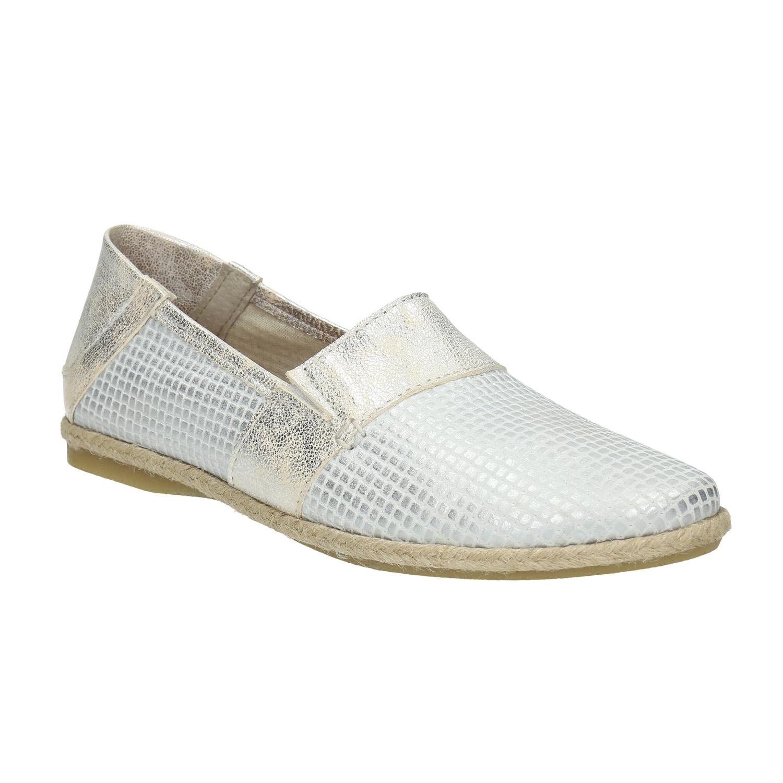 Kožená dámská Slip-on obuv