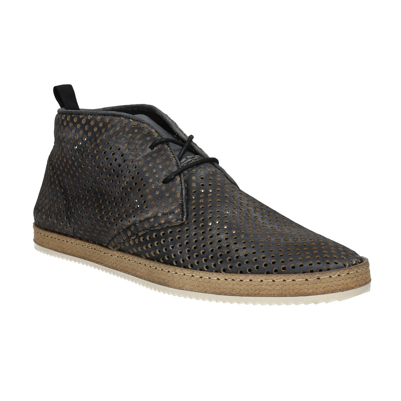 Kožené Desert Boots s perforací