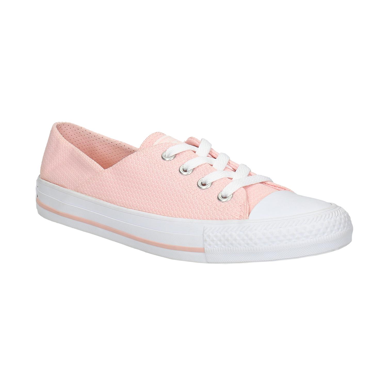 Nízké růžové tenisky