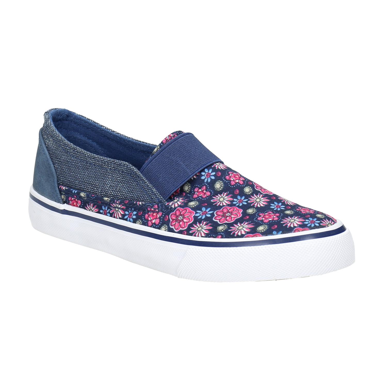 Buty dziewczęce typu slip-on - 3299611