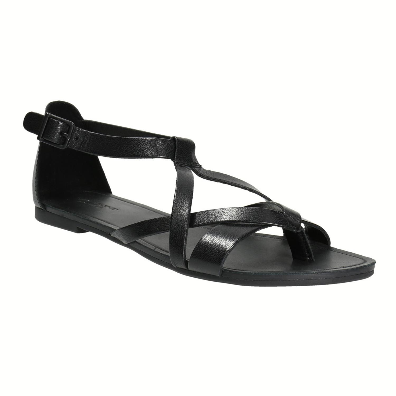 Černé dámské sandály