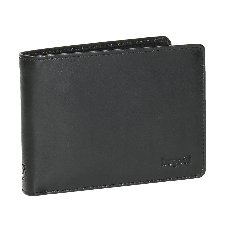 Černá kožená peněženka pánská