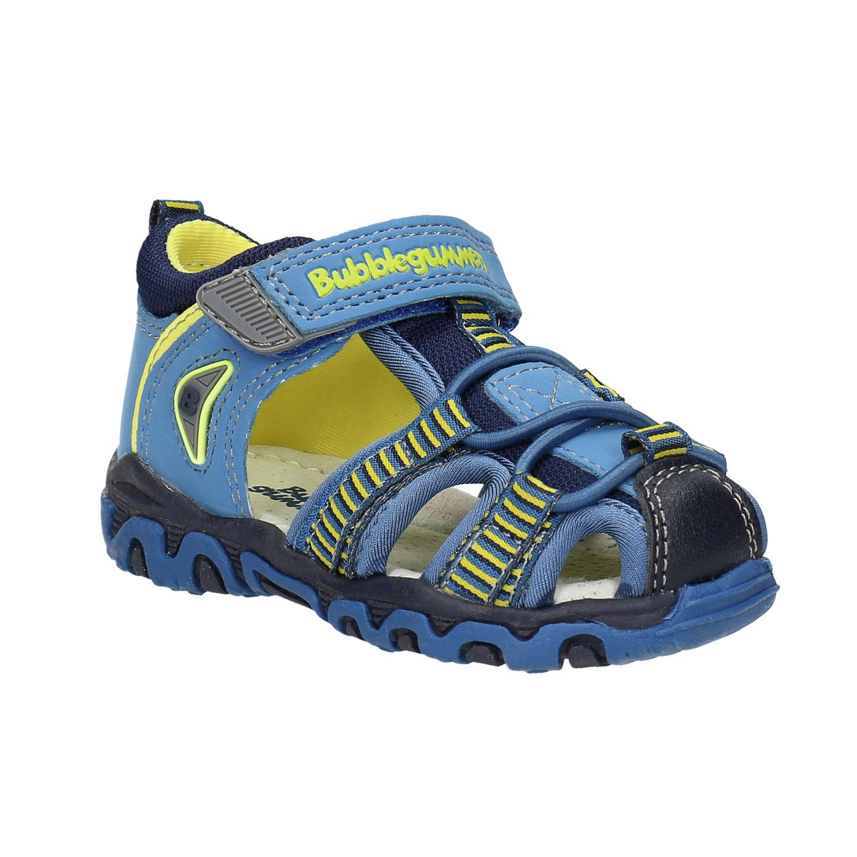 Dětská obuv s vykrojením modrá