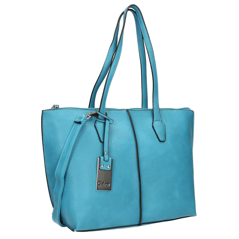 Modrá Shopper kabelka