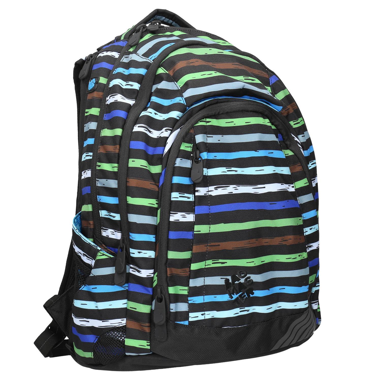 Školní batoh s pruhy
