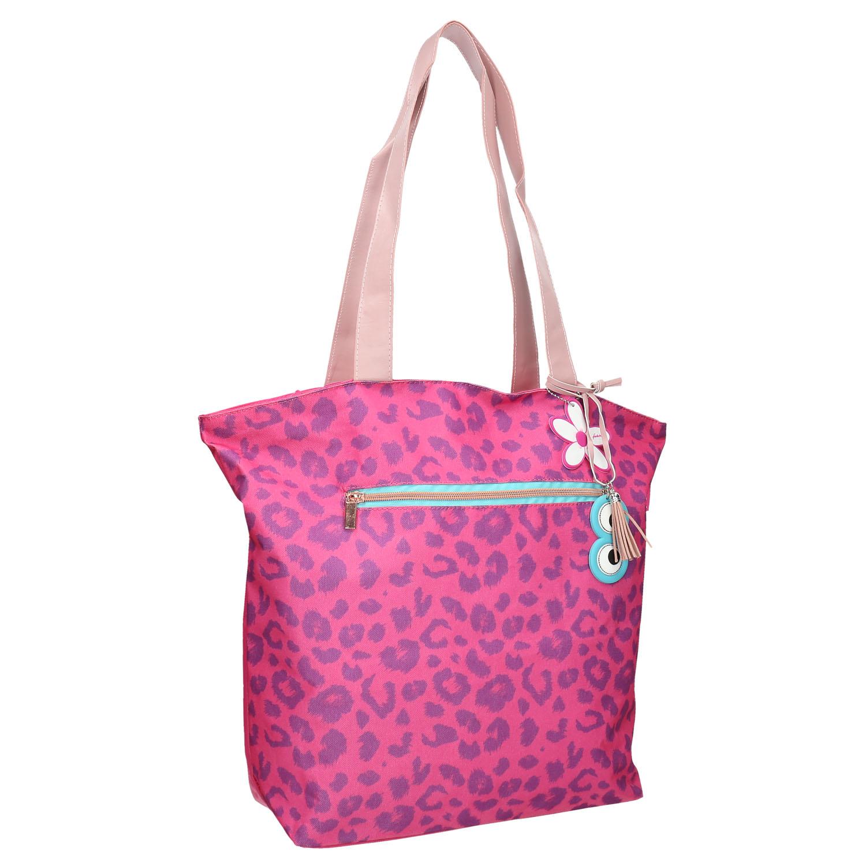 Dámská taška s leopardím vzorem