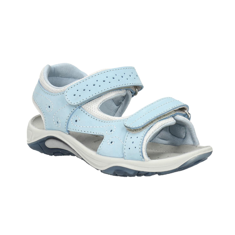 Kožené dětské sandály