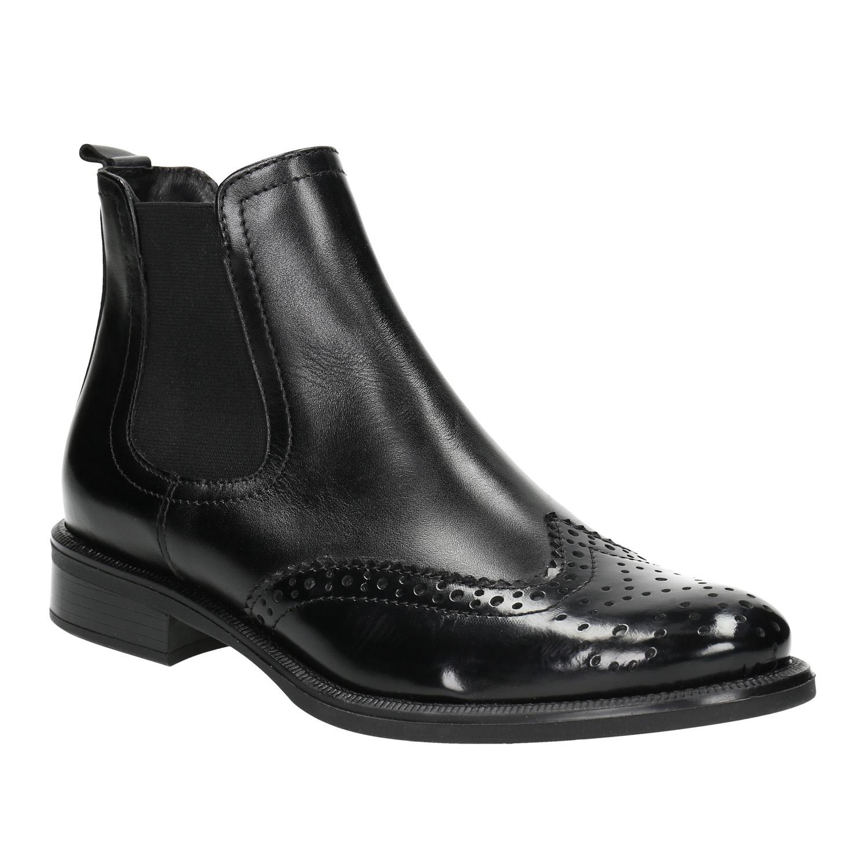 Dámska kožená Chelsea obuv