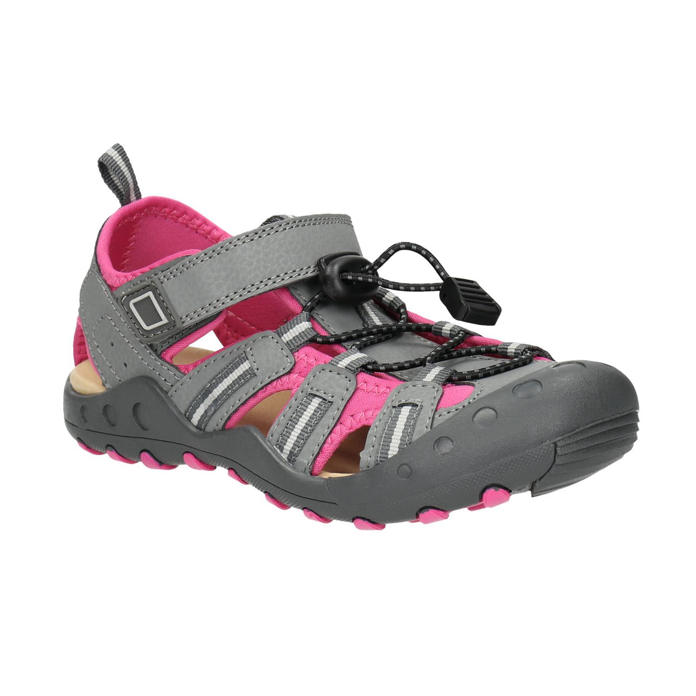 Dívčí sandály s plnou špicí