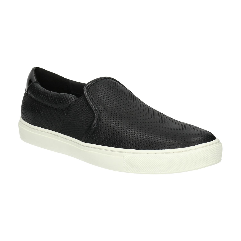 Kožené dámské Slip-on boty