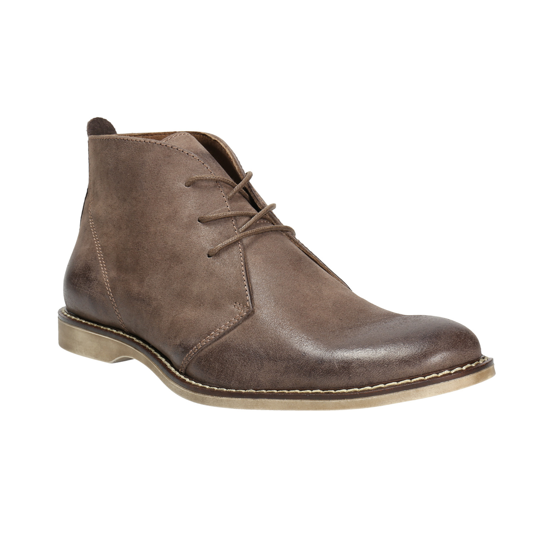 Skórzane buty za kostkę - 8264600