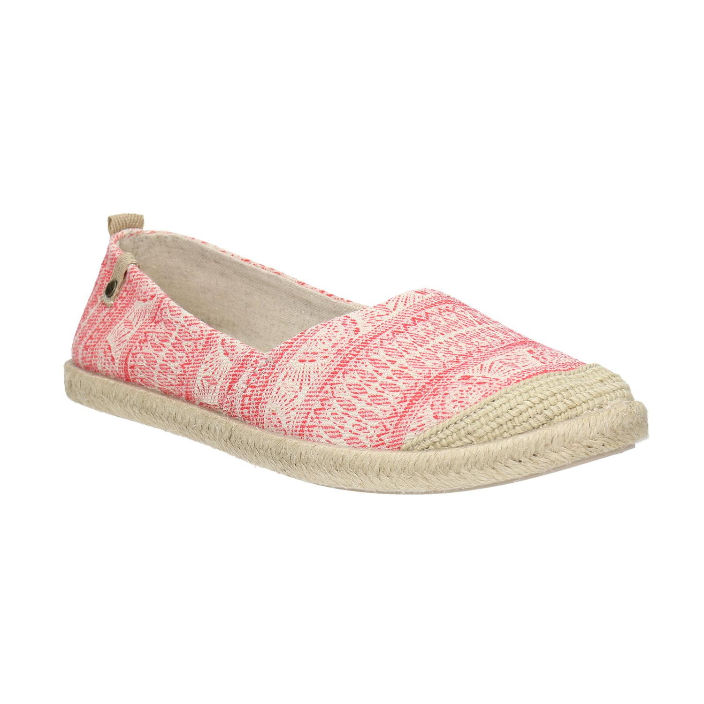 Dámská Slip-on obuv s jutou