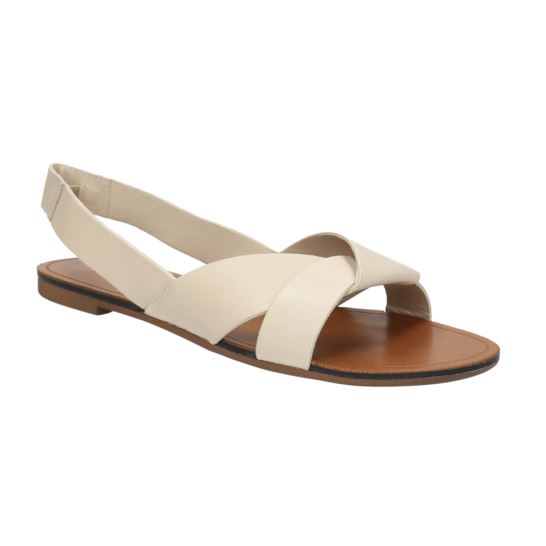 Kožené dámské sandály