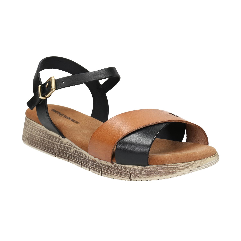 Sandały damskie na grubej podeszwie - 5666626