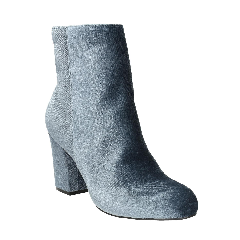 Aksamitne kozaki damskie - 7992616