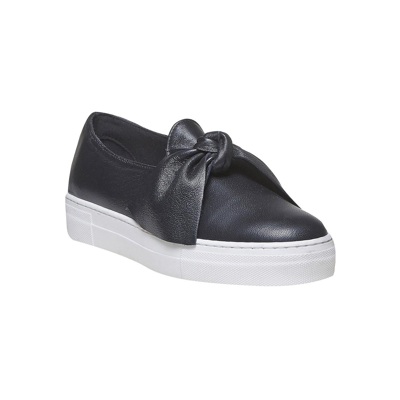 Kožená obuv ve stylu Slip-on