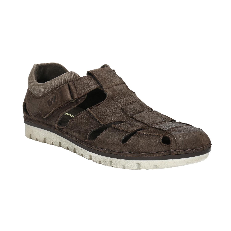 Pánská kožená obuv s průstřihy