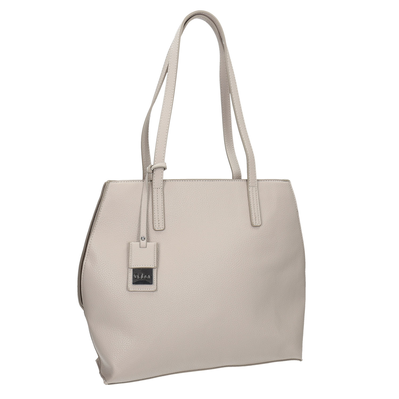 Kremowa torba damska - 9618082