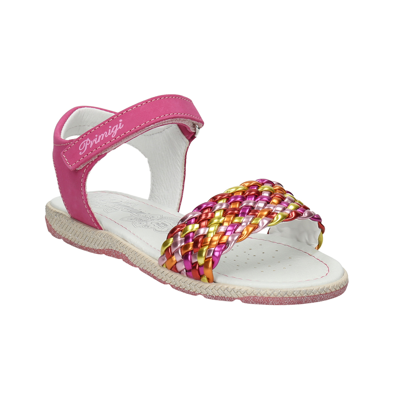 Kožené dívčí sandály