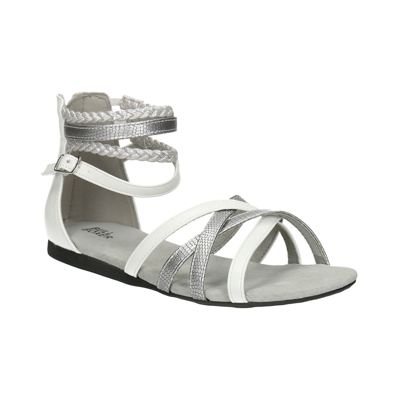 Sandały dziewczęce zpaskami - 4611001