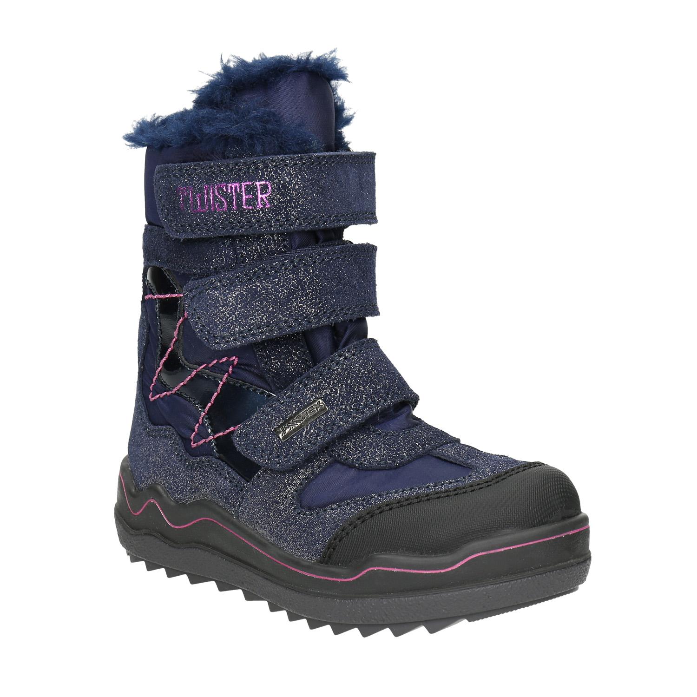 Dívčí zimní obuv na suché zipy