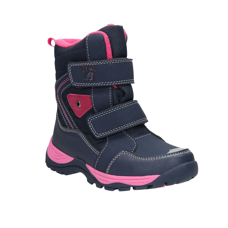 Dívčí zimní boty na suché zipy