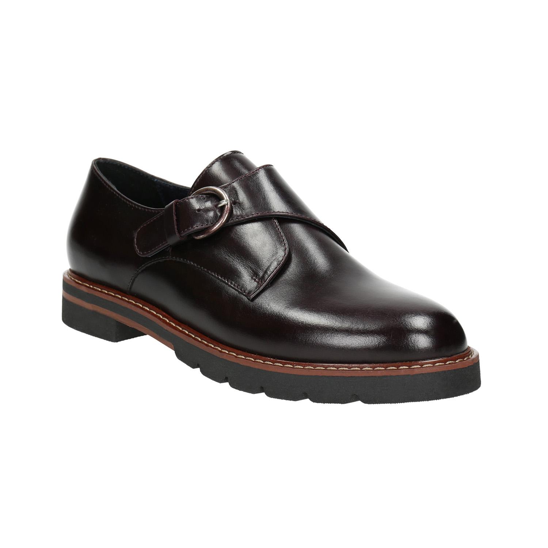 Dámské kožené Monk Shoes