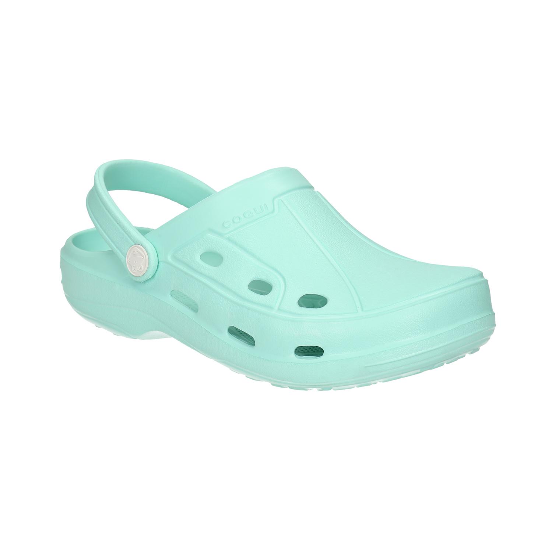 Modré dámské sandály