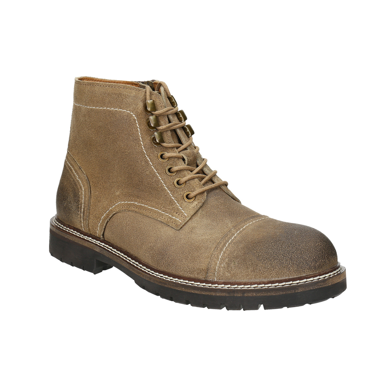 Skórzane buty za kostkę - 8933653