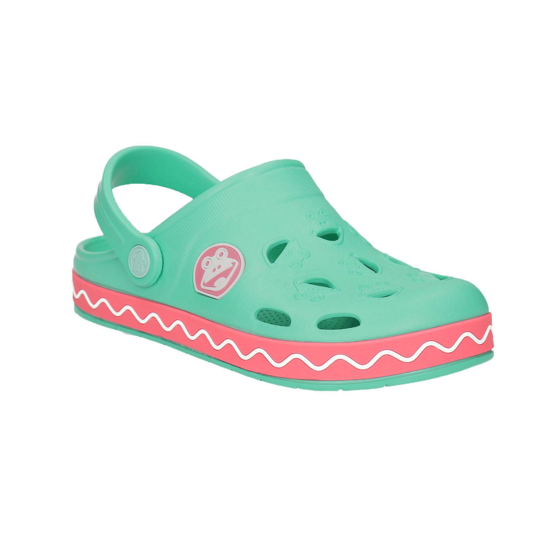 Dívčí sandály s žabkou