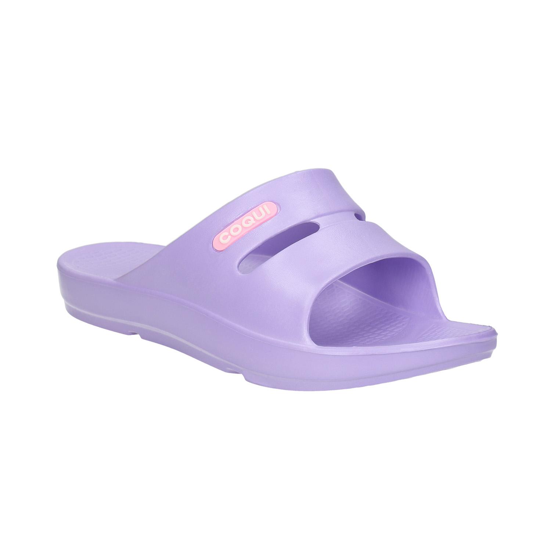 Dámské fialové nazouváky