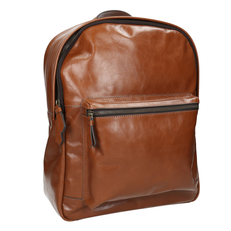 Kožený pánský batoh