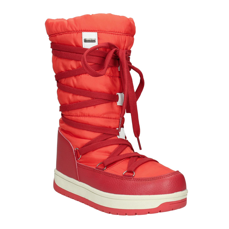 Červené dámské sněhule