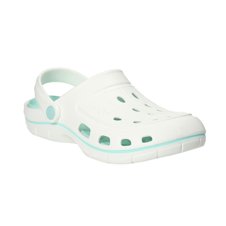Białe sandały damskie - 5721606