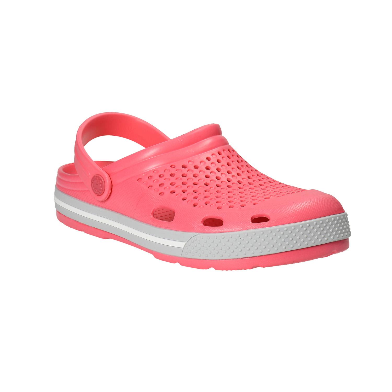 Różowe sandały damskie - 5725611