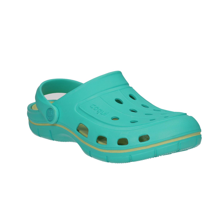Turkusowe sandały damskie - 5729606