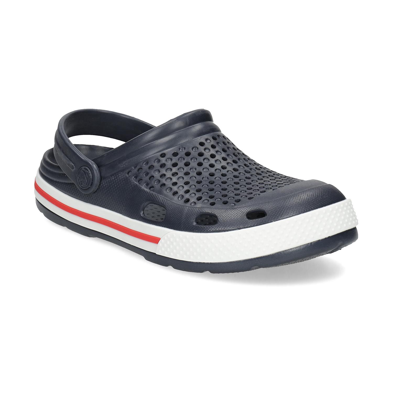 Granatowe sandały damskie - 5729611